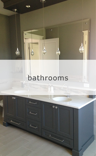 Transitional Bathrooms