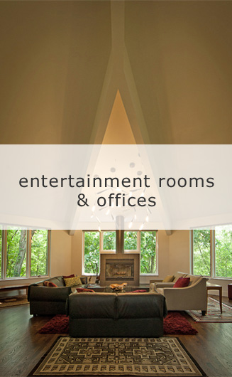 Urban Loft Entertainment Rooms & Offices